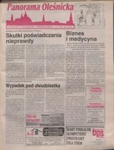 Panorama Oleśnicka: tygodnik Ziemi Oleśnickiej, 1996, nr 43