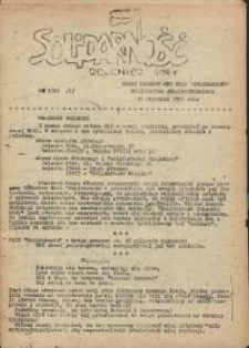 """Solidarność Jeleniej Góry : organ prasowy MKZ NSZZ """"Solidarność"""" województwa jeleniogórskiego : 10 stycznia 1981 roku, 1981, nr 1(7)"""
