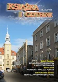 Książka i Czytelnik : czasopismo bibliotekarzy Dolnego Śląska, 2010, nr 2