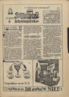 Solidarność Jeleniogórska : 23.03.1981 r., nr 6