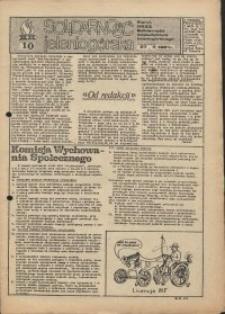 Solidarność Jeleniogórska : pismo NSZZ Solidarność województwa jeleniogórskiego : 27.04.1981 r., nr 10