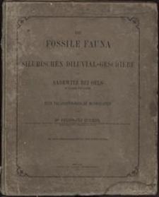 Die Fossile Fauna der Silurischen Diluvial-Geschiebe von Sandewitz bei Oels in Nieder-Schlesien : eine Palaeontologische Monographie