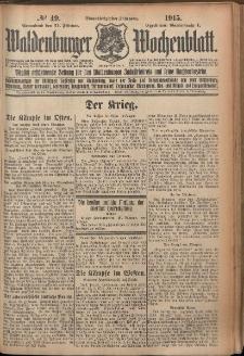 Waldenburger Wochenblatt, Jg. 61, 1915, nr 49
