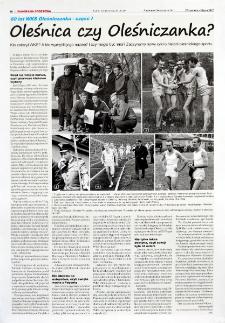 Oleśnica czy Oleśniczanka? : Kto założył WKS? A kto wymyślił jego nazwę? I czy mogła być inna? Zaczynamy nowy cykl o historii oleśnickiego sportu