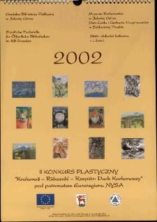 2002 : Krakonoš - Rũbezahl - Rzepiór : duch Karkonoszy : II konkurs plastyczny pod patronatem Euroregionu NYSA - plakat [Dokument elektroniczny]