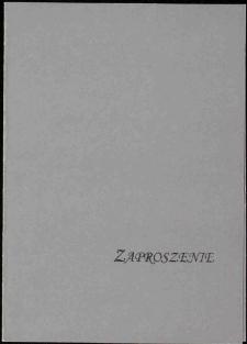 Pomniki Cmentarza Łyczakowskiego w rysunkach Agaty Kuczmy - zaproszenie [Dokument życia społecznego]