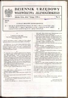 Dziennik Urzędowy Województwa Jeleniogórskiego, 1996, nr 5