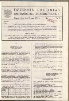 Dziennik Urzędowy Województwa Jeleniogórskiego, 1996, nr 23