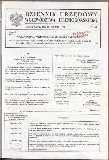 Dziennik Urzędowy Województwa Jeleniogórskiego, 1996, nr 61