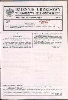 Dziennik Urzędowy Województwa Jeleniogórskiego, 1996, nr 65