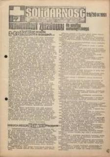 Solidarność Jeleniogórska : komunikat zjazdowy : 29/30.09.1981 r.