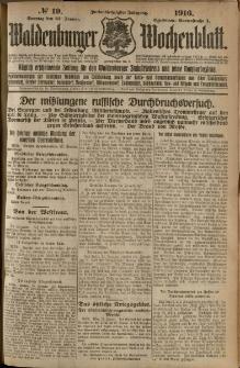Waldenburger Wochenblatt, Jg. 62, 1916, nr 19