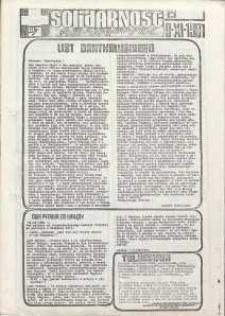 Solidarność Jeleniogórska : tygodnik : 6.11.1981 r., nr 19