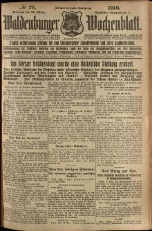 Waldenburger Wochenblatt, Jg. 62, 1916, nr 75