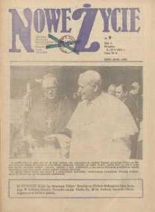 Nowe Życie :dolnośląskie pismo katolickie : religia, kultura, społeczeństwo, 1983, nr 9