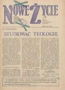 Nowe Życie :dolnośląskie pismo katolickie : religia, kultura, społeczeństwo, 1983, nr 10