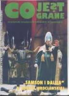 Co Jest Grane : wrocławski miesięcznik kulturalno-informacyjny, 1994, nr 3