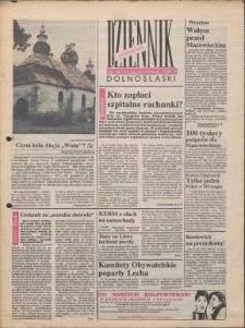 Dziennik Dolnośląski, 1990, nr 16 [15 października]