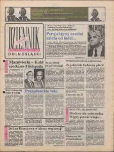 Dziennik Dolnośląski, 1990, nr 24 [25 października]