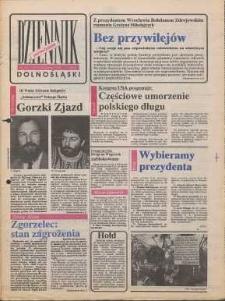Dziennik Dolnośląski, 1990, nr 26 [29 października]