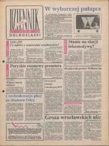 Dziennik Dolnośląski, 1990, nr 42 [21 listopada]