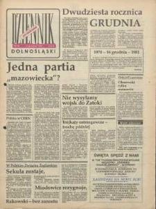 Dziennik Dolnośląski, 1990, nr 60 [17 grudnia]