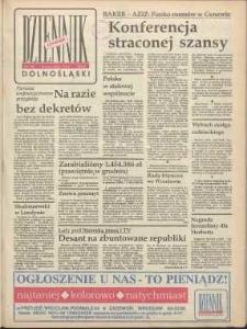 Dziennik Dolnośląski, 1991, nr 74 [10 stycznia]