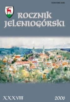 Rocznik Jeleniogórski, T. 38 (2006)