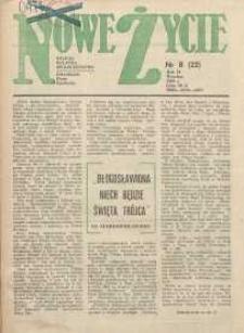 Nowe Życie :dolnośląskie pismo katolickie : religia, kultura, społeczeństwo, 1984, nr 8 (22)