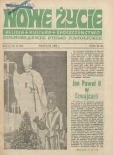 Nowe Życie :dolnośląskie pismo katolickie : religia, kultura, społeczeństwo, 1984, nr 11 (25)