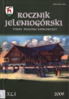 Rocznik Jeleniogórski : pismo regionu Karkonoszy, T. 41 (2009)