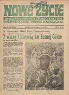 Nowe Życie :dolnośląskie pismo katolickie : religia, kultura, społeczeństwo, 1984, nr 15 (29)