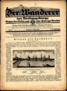 Der Wanderer im Riesengebirge, 1925, nr 6