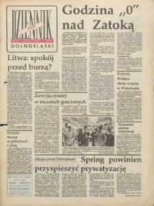 Dziennik Dolnośląski, 1991, nr 78 [16 stycznia]