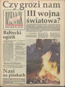 Dziennik Dolnośląski, 1991, nr 85 [25-27 stycznia]