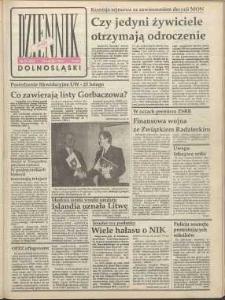 Dziennik Dolnośląski, 1991, nr 98 [13 lutego]