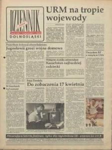 Dziennik Dolnośląski, 1991, nr 122 [19 marca]