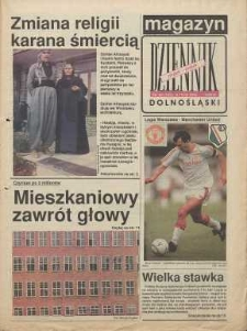 Magazyn Dziennik Dolnośląski, 1991, nr 131 [5 kwietnia]