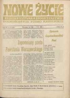 Nowe Życie :dolnośląskie pismo katolickie : religia, kultura, społeczeństwo, 1985, nr 17 (55)