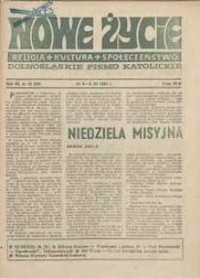 Nowe Życie :dolnośląskie pismo katolickie : religia, kultura, społeczeństwo, 1985, nr 21 (59)