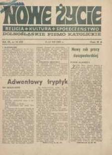 Nowe Życie :dolnośląskie pismo katolickie : religia, kultura, społeczeństwo, 1985, nr 24 (62)