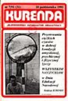 Kurenda : jeleniogórski informator oświatowy, 1991, nr 7 (31)