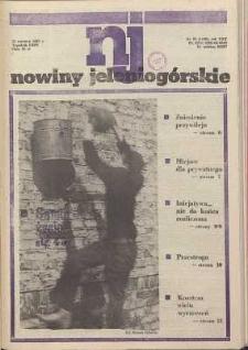Nowiny Jeleniogórskie : tygodnik PZPR, R. 30, 1987, nr 25 (1186!)