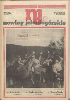 Nowiny Jeleniogórskie : tygodnik PZPR, R. 30, 1987, nr 29 (1190!)