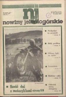 Nowiny Jeleniogórskie : tygodnik PZPR, R. 30, 1987, nr 37 (1198!)