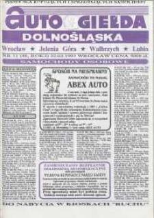 Auto Giełda Dolnośląska : pismo dla kupujących i sprzedających samochody, R. 2, 1993, nr 11 (48) [22.03]