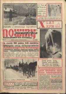Nowiny Jeleniogórskie : magazyn ilustrowany ziemi jeleniogórskiej, R. 12, 1969, nr 2 (553)