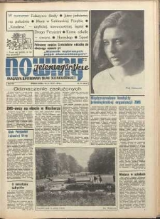 Nowiny Jeleniogórskie : magazyn ilustrowany ziemi jeleniogórskiej, R. 13, 1970, nr 31 (634)
