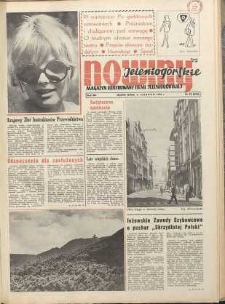 Nowiny Jeleniogórskie : magazyn ilustrowany ziemi jeleniogórskiej, R. 13, 1970, nr 32 (635)
