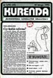 Kurenda : jeleniogórski informator oświatowy, 1992, nr 2 (35)